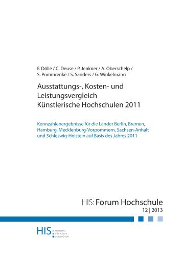Download HIS:Forum Hochschule 12|2013