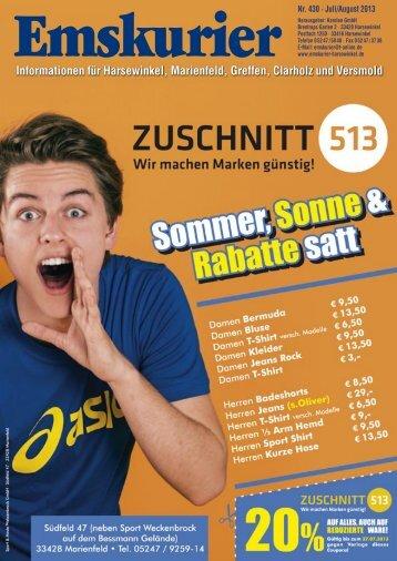 Informationen für Harsewinkel, Marienfeld, Greffen, Clarholz und ...