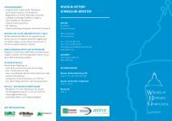 Flyer 'Das Hittorf' [ca. 1,5 MB vom Nov 2013]
