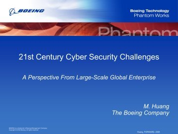 21st Century Cyber Security Challenges - A Perspective ... - ict-forward