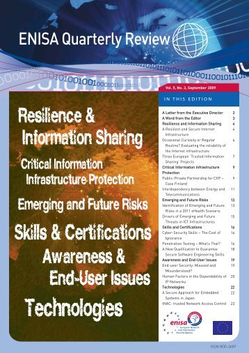 Drivers of Emerging and Future Threats in ICT Infrastructures - ICS