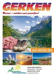 Katalog 2014 - Gerken-Reisen