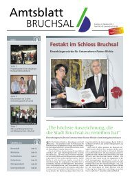 Amtsblatt KW 40/2013 - Bruchsal