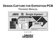 DESIGN CAPTURE FOR EXPEDITION PCB