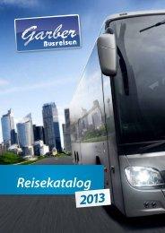 Reisekatalog - Garber Reisen GmbH