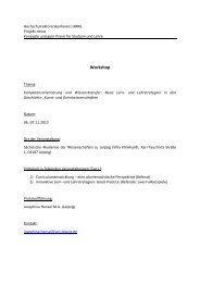 Protokoll - HRK Nexus