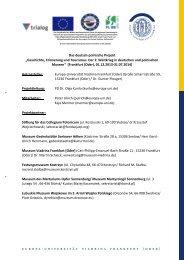 Euroregion- Teilprojekt