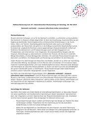 Mottoerläuterung (.pdf) - ICOM Deutschland