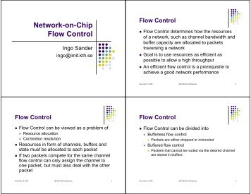 (PDF) Overview of Network on Chip Architecture
