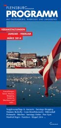 3. November - Flensburg Programm