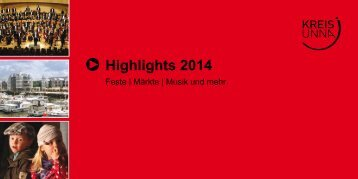 Highlights 2014 - Kreis Unna