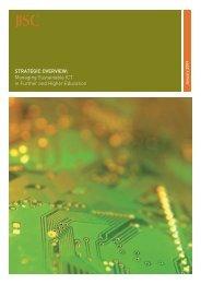 Strategic Overview - ICT Digital Literacy