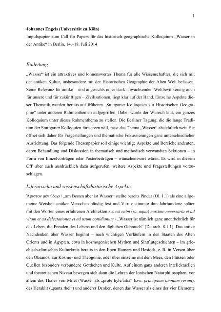 Engels_Wasser-Impulspapier zum Kolloquium-2014