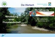 Die Wertach Vorstellung einer Flusslandschaft - Fischereiverband ...