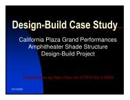 Design-Build Case Study - ictpa-scc