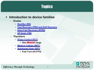 Semiconductor Device Families (Opens pdf)