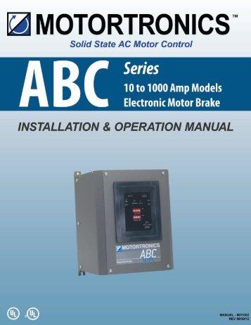 ABC User Manual - I.C.T. Power Company Inc.