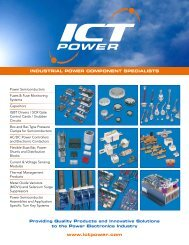 industrial power component specialists - I.C.T. Power Company Inc.