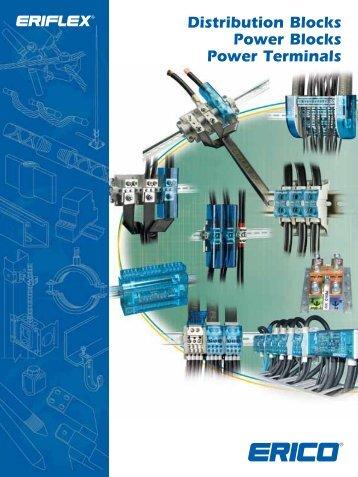 Distribution Blocks Power Blocks Power Terminals, Brochure - Erico