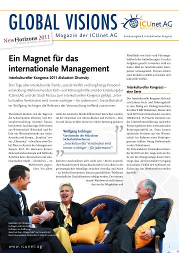 Ein Magnet für das internationale Management - ICUnet.AG