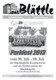 KW 27 am 05.Juni 2013 - Goeggingen.de