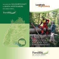 Kompetenter partner für Wald und Landkreis Ravensburg - ForstBW