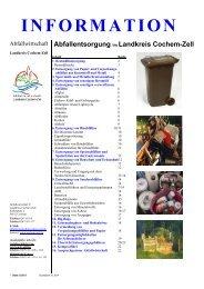 Abfallentsorgung im Ãœberblick - Landkreis Cochem-Zell