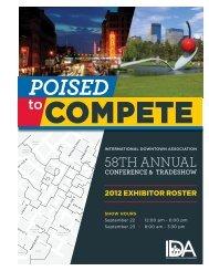 2012 Exhibitors - International Downtown Association
