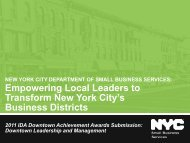 Empowering Local Leaders to Transform New York City's Business ...