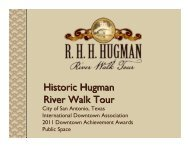 Historic Hugman River Walk Tour - International Downtown ...