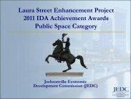 Laura Street Enhancement Project 2011 IDA Achievement Awards ...