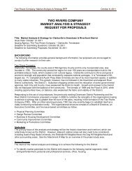 two rivers company market analysis & stragegy request for proposals