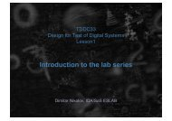 Introduction to the lab series - IDA