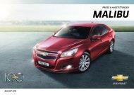 MALIBU - Chevrolet Deutschland Gmbh