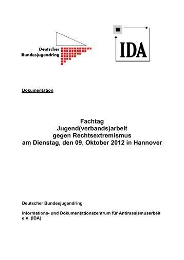 Dokumentation Fachtag JVA-Rex - IDA