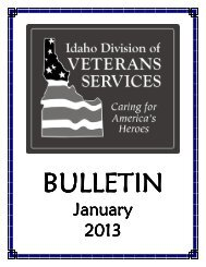 January 2013 - Idaho Falls Chamber of Commerce