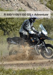 R 850/1100/1150 GS + Adventure - Wunderlich