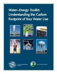 Water~Energy Toolkit: Understanding the Carbon ... - Toolbox