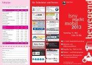 Flyer zu Isny macht mobil