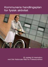 Kommunens handlingsplan for fysisk aktivitet