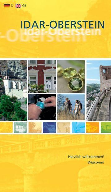 Flyer: Idar-Oberstein, die facettenreiche Stadt mit Herz!