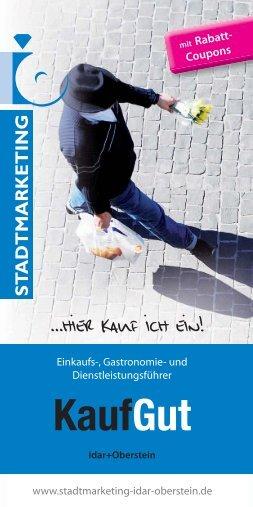 KaufGut - Stadtmarketing Idar Oberstein