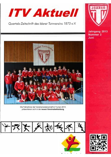 ITV Aktuell, Nr.2 / 2013 - Idarer Turnverein 1873 e.V.