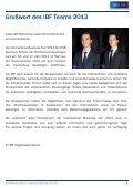 Messebroschüre: IBF 2013 - International Business Fair - Page 5