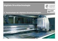 Digitale Drucktechnologie - Institut für Druckmaschinen und ...