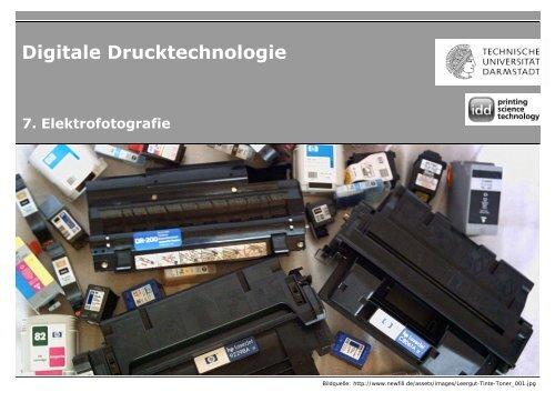 DDT_WS1213_07_Elektrofotografie_V1_S - Institut für ...