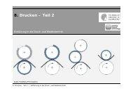 8. Drucken – Teil 2 - Institut für Druckmaschinen und Druckverfahren ...