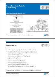Patente - IDD - Technische Universität Darmstadt