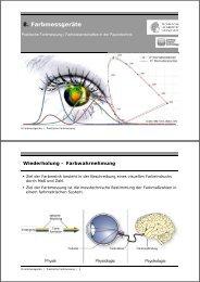 8. Farbmessgeräte - Institut für Druckmaschinen und Druckverfahren ...