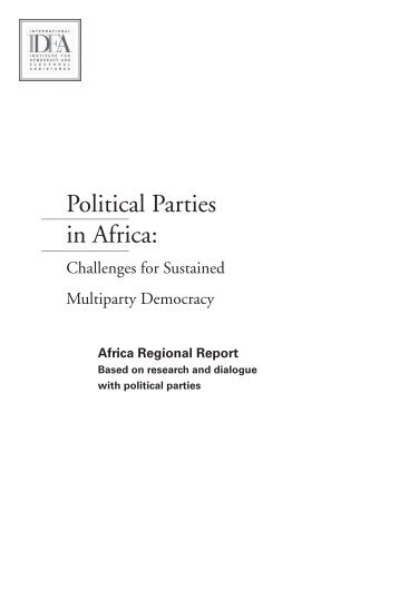Challenges of Political Parties